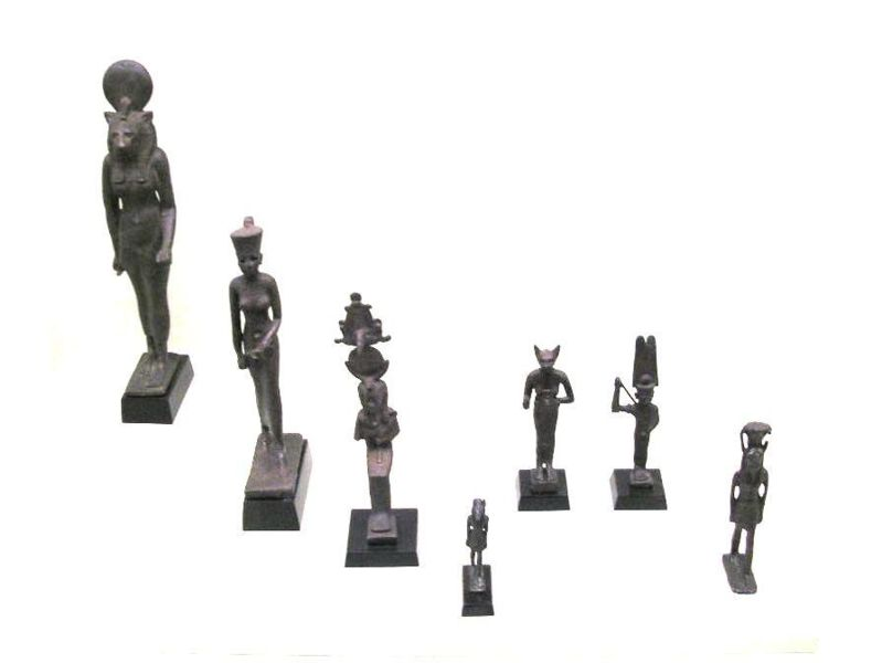 Egyptische Götter und Göttinnen, Wikimedia Commons, Foto: Gryffindor