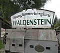 Eisenglimmergewinnung seit 1896 in Waldenstein, Oberes Lavanttal, Bezirk Wolfsberg.jpg