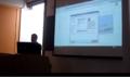 El profesor Antonio Balderas Alberico en el Seminario de Wikis del curso 2015 - 16.png