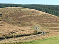 Elenydd moorland road crossing the Afon Tywi - geograph.org.uk - 1040872.jpg