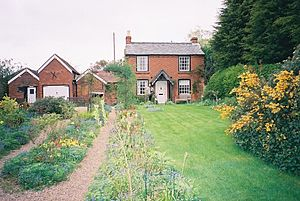 Broadheath, Worcestershire - Image: Elgar's birthplace