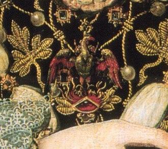 The Phoenix and the Turtle - Elizabeth's Phoenix jewel from the Phoenix portrait