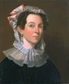 ElizabethBartlettNolen ca1828 byJRPenniman WorcesterArtMuseum.png