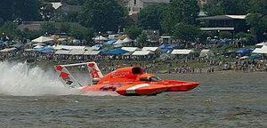 Hydroplane (boat) - Image: Ellstrom Manufacturing Hydroplane