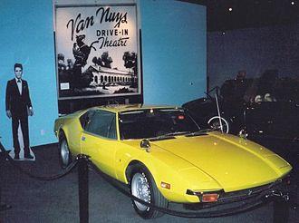 De Tomaso - De Tomaso Pantera, once owned by Elvis Presley