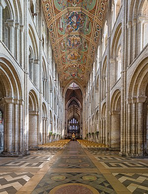 Ely Cathedral - The nave