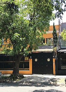 List of diplomatic missions in Mexico - Wikipedia