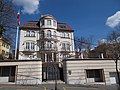 Embassy of the Arab Republic of Egypt. Building. - Budapest, 12th district. Istenhegyi road 7B.JPG