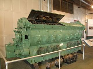 EMD 567 Motor vehicle engine
