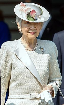 Empress Michiko cropped 20140424.jpg