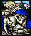 Engelhartszell Pfarrkirche - Fenster 1 Pieta.jpg