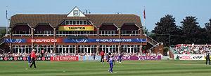 Claire Taylor - Taylor batting against Sri Lanka during the 2009 Women's World Twenty20