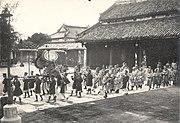 Enthronement of Emperor Bảo Đại 010
