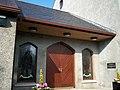 Entrance Doorway to Newmills Presbyterian Church - geograph.org.uk - 1539029.jpg