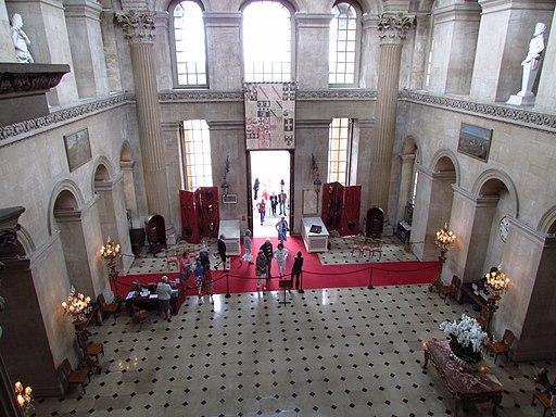 Blenheim Palace Entrance Hall