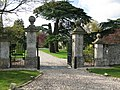 Entrance to Down Ampney House - geograph.org.uk - 1570254.jpg