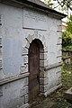 Entrance to the Gibson Mausoleum in St Nicholas' Churchyard.jpg