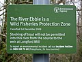Environment Agency Sign, Faulston - geograph.org.uk - 1805309.jpg