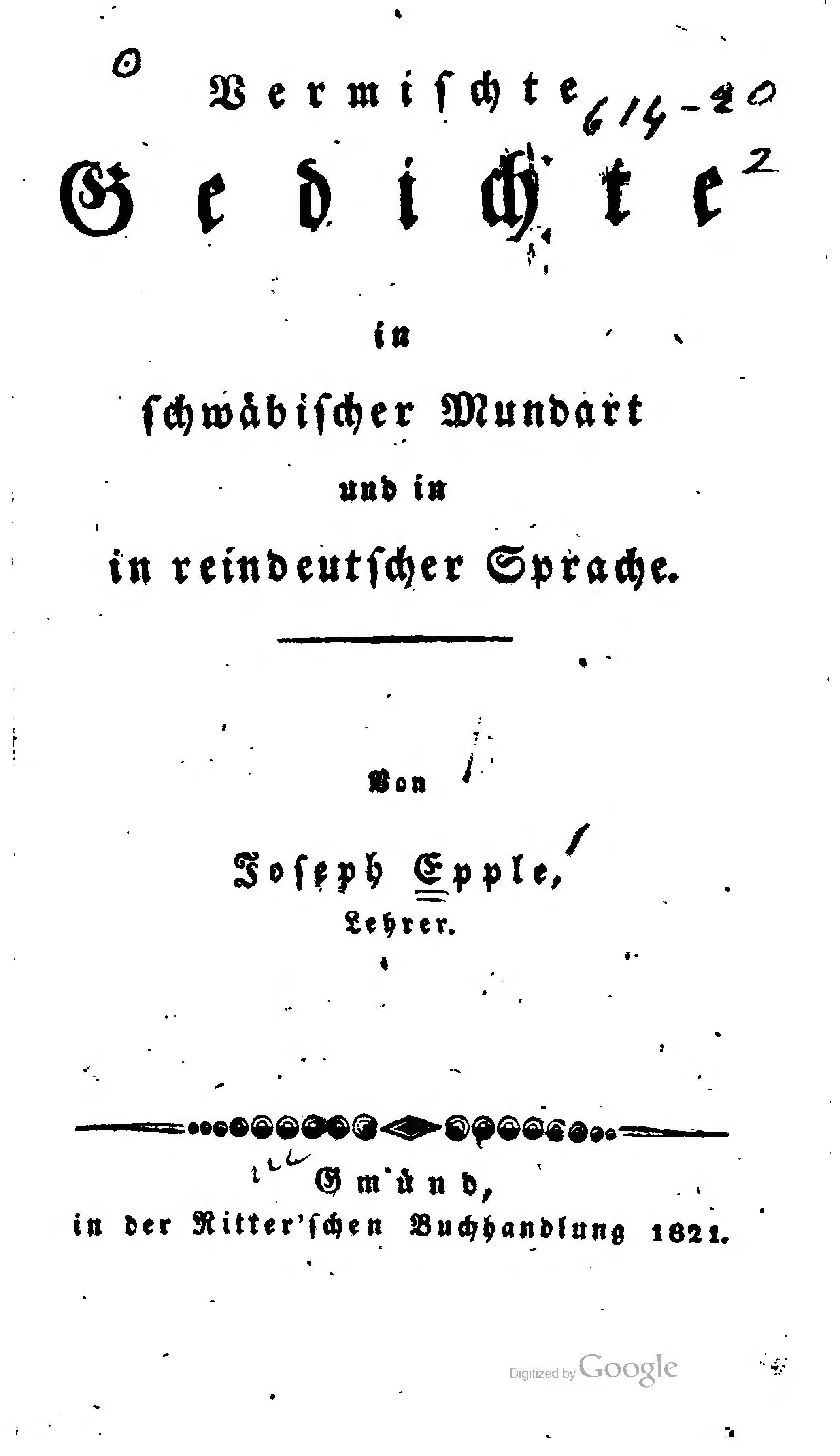 Fileepple Gedichte 1821djvu Wikimedia Commons