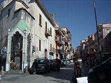 Il Crocifisso del 1799 in via Pugliano