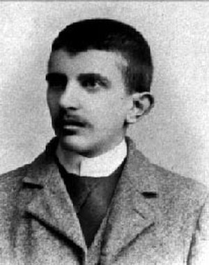 Erich Mühsam - Erich Mühsam as a young man, ca. 1894