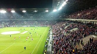 2017–18 Ekstraklasa - Image: Ernest Pohl Stadium Zabrze 2