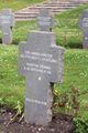 Esbjerg War Cemetery Unknown German refugee.JPG