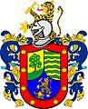 Escudo de Juan de Salinas Loyola Gobernador de Yaguarzongo y Bracamoros 20.XI.1537.jpg