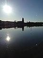 Eskilstuna ån med Kloster kyrka i bagrunden (8780996476).jpg