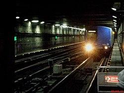 Estação Metrô Jabaquara(Linha 1-Azul). A Estação Jabaquara foi a primeira estação de Metrô do Brasil, inaugurada em Setembro de 1974 - panoramio.jpg