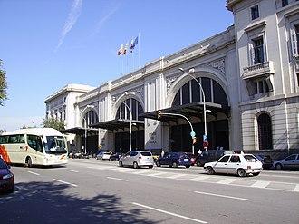 Barcelona França railway station - Façade