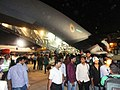 Evacuated people from Yemen in an Indian Air Force (IAF) C-17 aircraft reached at Mumbai airport on April 02, 2015.jpg