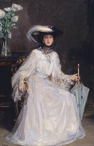 John Lavery - Evelyn Farquhar wife of Captain Francis Douglas Farquhar