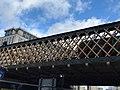 Evening Standard is Racist Bog Roll graffito on a bridge.jpg