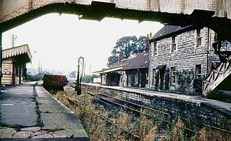 Somerset and Dorset Joint Railway - Evercreech Junction after closure