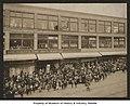 Exterior of the Bon Marché with crowd awaiting Santa Claus's arrival, Christmas 1902 (MOHAI 4414).jpg