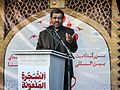 Ezatollah Zarghami speaking in 2015 Hajj stampede anniversary in Behesht-e Zahra.jpg