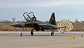 F-5F Tiger of VFC-13 at NAS Fallon in February 2015.JPG