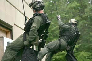 Hostage Rescue Team - HRT Operators in training