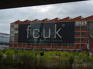 FCUK billboard
