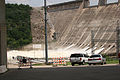 FEMA - 30907 - Lake Travis Dam with flood gates open in Texas.jpg