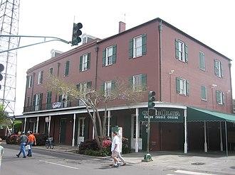 WWOZ - Post-Katrina WWOZ studios are on the second floor of this French Quarter building