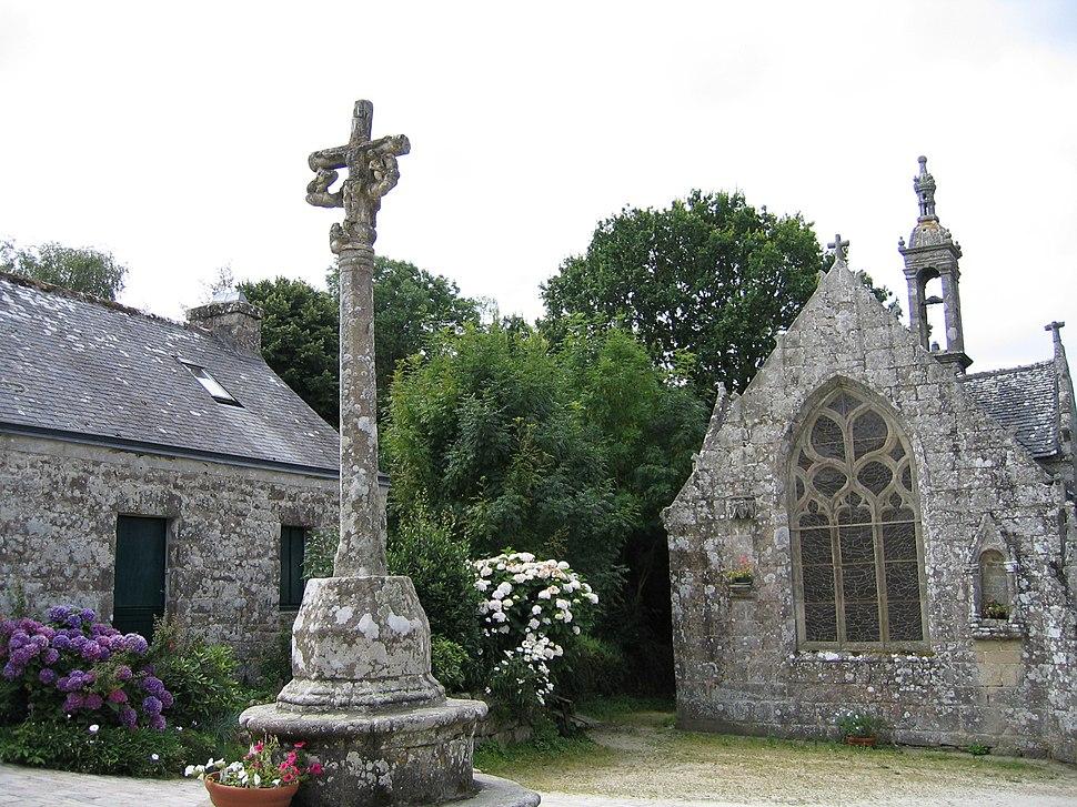 FRANCE - Bretagne - Locronan - Chapelle