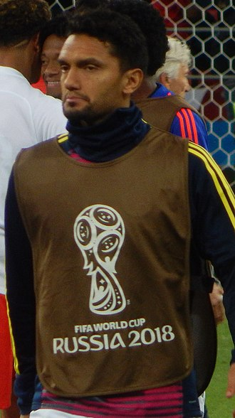 Abel Aguilar - Aguilar with Colombia at the 2018 World Cup