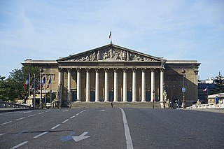 Palais Bourbon Seat of the French National Assembly