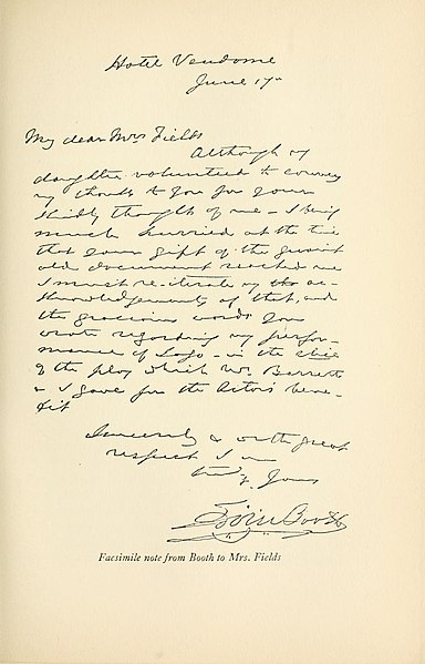File:Facsimile note from Edwin Booth to Mrs. Fields.jpg