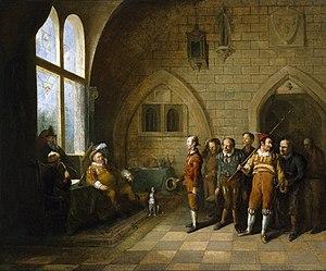John Cawse - Image: Falstaff choosing his recruits (Cawse, 1818)