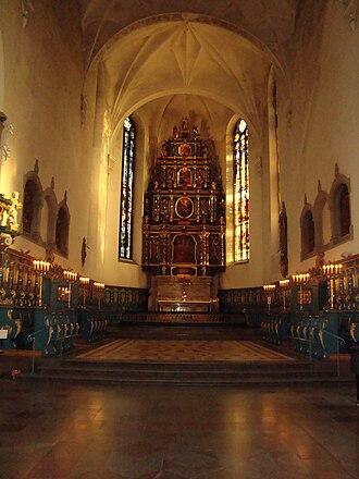 Kristine Church, Falun - Image: Falu Kristine kyrka 1