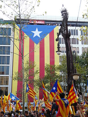 Catalan self-determination referendum, 2014 - Image: Fanals Banc P1150941