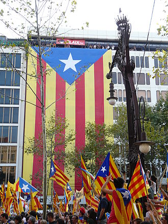 Assemblea Nacional Catalana - 2012 Catalan independence demonstration